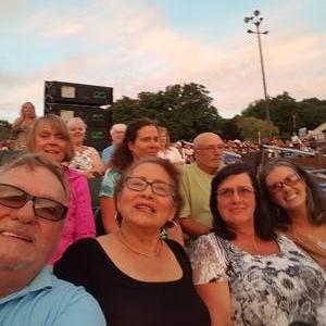 John attended Frankie Valli & The Four Seasons - Lawn Seating on Jul 6th 2018 via VetTix