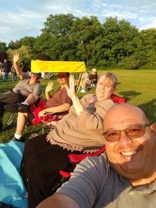 Paul attended Frankie Valli & The Four Seasons - Lawn Seating on Jul 6th 2018 via VetTix