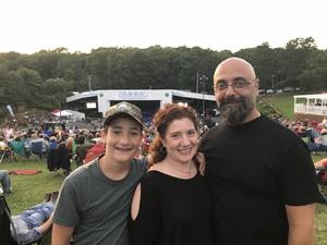 Michael attended Frankie Valli & The Four Seasons - Lawn Seating on Jul 6th 2018 via VetTix