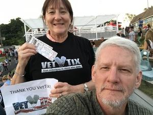 CindyEW attended Frankie Valli & The Four Seasons - Lawn Seating on Jul 6th 2018 via VetTix