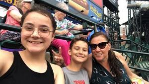 Gloria attended Detroit Tigers vs. Texas Rangers - MLB on Jul 5th 2018 via VetTix