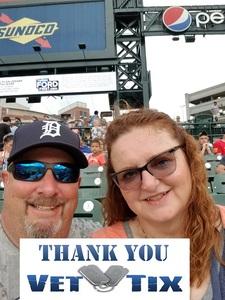 James attended Detroit Tigers vs. Texas Rangers - MLB on Jul 5th 2018 via VetTix