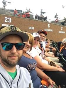Robert attended Detroit Tigers vs. Texas Rangers - MLB on Jul 5th 2018 via VetTix