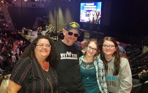 Barton attended Chicago and Reo Speedwagon Live at the Pepsi Center on Jun 20th 2018 via VetTix
