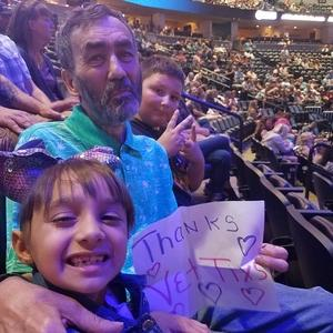 Edward attended Chicago and Reo Speedwagon Live at the Pepsi Center on Jun 20th 2018 via VetTix