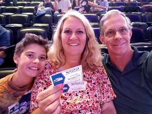 Angela attended Chicago and Reo Speedwagon Live at the Pepsi Center on Jun 20th 2018 via VetTix