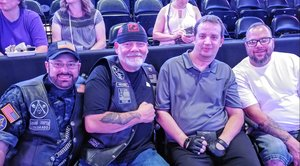 Wade attended Chicago and Reo Speedwagon Live at the Pepsi Center on Jun 20th 2018 via VetTix