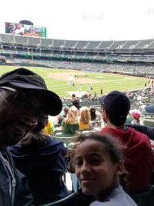 Earl attended Oakland Athletics vs. San Diego Padres - MLB on Jul 4th 2018 via VetTix