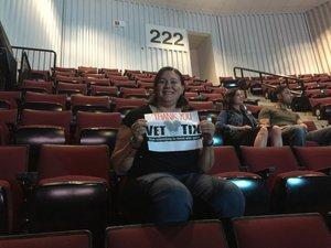 Kristal attended Tim McGraw & Faith Hill Soul2Soul the World Tour 2018 - Country on Jun 26th 2018 via VetTix