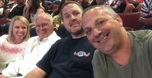 Brad attended Tim McGraw & Faith Hill Soul2Soul the World Tour 2018 - Country on Jun 26th 2018 via VetTix