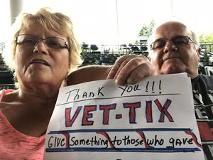 Marsha and Bob attended Outlaw Music Festival - Willie Nelson, Nathaniel Rateliff and More on Jun 24th 2018 via VetTix