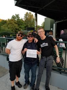 allen attended Outlaw Music Festival - Willie Nelson, Nathaniel Rateliff and More on Jun 24th 2018 via VetTix