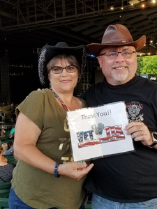 Patrick attended Ted Nugent With Special Guest Blue Oyster Cult and Mark Farner on Jul 20th 2018 via VetTix