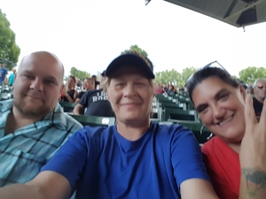 Brenda attended Ted Nugent With Special Guest Blue Oyster Cult and Mark Farner on Jul 20th 2018 via VetTix