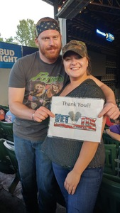Michael attended Ted Nugent With Special Guest Blue Oyster Cult and Mark Farner on Jul 20th 2018 via VetTix