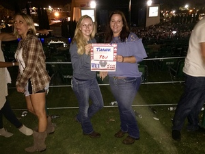 Mark attended Kenny Chesney: Trip Around the Sun Tour With Old Dominion - Lawn Seats on Jun 21st 2018 via VetTix