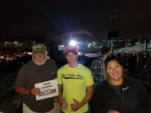 WILLIAM attended Kenny Chesney: Trip Around the Sun Tour With Old Dominion - Lawn Seats on Jun 21st 2018 via VetTix