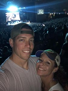Korey Nicole attended Kenny Chesney: Trip Around the Sun Tour With Old Dominion - Lawn Seats on Jun 21st 2018 via VetTix
