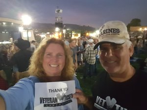 Bill attended Kenny Chesney: Trip Around the Sun Tour With Old Dominion - Lawn Seats on Jun 21st 2018 via VetTix
