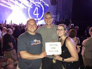 Tyler attended Foreigner - Juke Box Heroes Tour With Whitesnake and Jason Bonham's LED Zeppelin Evening on Jun 23rd 2018 via VetTix