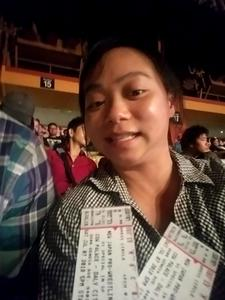Yunjue attended New Japan Pro Wrestling Presents - G1 Special in San Francisco - Live Professional Wrestling on Jul 7th 2018 via VetTix