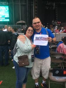 John Paul attended Zac Brown Band Show VIP Experience - Read Special Instructions in Confirmation Email on Jun 22nd 2018 via VetTix