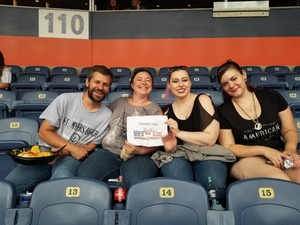 cassandra attended Kenny Chesney: Trip Around the Sun Tour on Jun 30th 2018 via VetTix