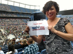 Lisa attended Kenny Chesney: Trip Around the Sun Tour on Jun 30th 2018 via VetTix