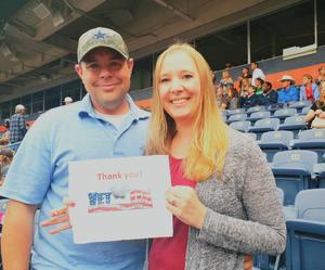 Kevin attended Kenny Chesney: Trip Around the Sun Tour on Jun 30th 2018 via VetTix