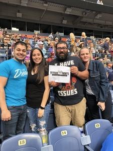 Joshua attended Kenny Chesney: Trip Around the Sun Tour on Jun 30th 2018 via VetTix