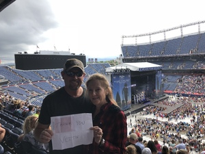 Michael attended Kenny Chesney: Trip Around the Sun Tour on Jun 30th 2018 via VetTix