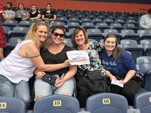 Megan attended Kenny Chesney: Trip Around the Sun Tour on Jun 30th 2018 via VetTix