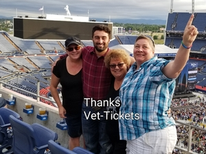 Kimberly attended Kenny Chesney: Trip Around the Sun Tour on Jun 30th 2018 via VetTix