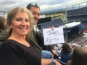 Christine attended Kenny Chesney: Trip Around the Sun Tour on Jun 30th 2018 via VetTix