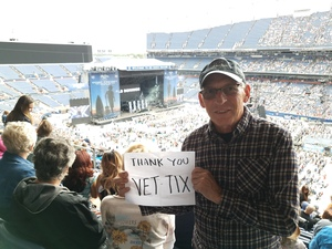Roger attended Kenny Chesney: Trip Around the Sun Tour on Jun 30th 2018 via VetTix
