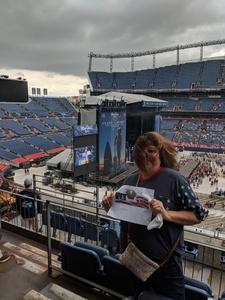 Rose attended Kenny Chesney: Trip Around the Sun Tour on Jun 30th 2018 via VetTix