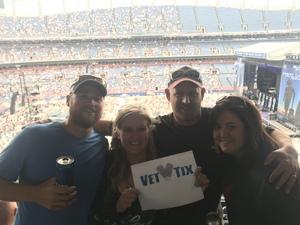 Randy attended Kenny Chesney: Trip Around the Sun Tour on Jun 30th 2018 via VetTix