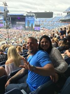 Dolores attended Kenny Chesney: Trip Around the Sun Tour on Jun 30th 2018 via VetTix