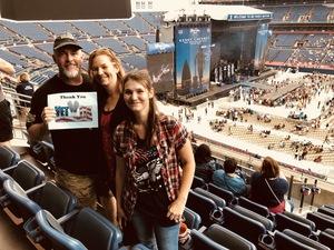 Michael attended Kenny Chesney: Trip Around the Sun Tour on Jun 30th 2018 via VetTix