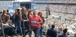 Mandy attended Kenny Chesney: Trip Around the Sun Tour on Jun 30th 2018 via VetTix