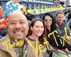 Jesse attended Kenny Chesney: Trip Around the Sun Tour on Jun 30th 2018 via VetTix
