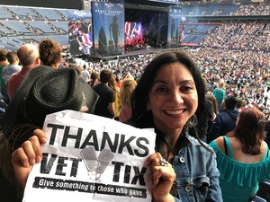 michelle attended Kenny Chesney: Trip Around the Sun Tour on Jun 30th 2018 via VetTix