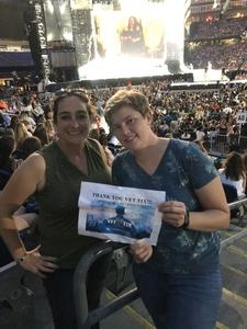 Kyla attended Taylor Swift Redemption Stadium Tour on Jul 27th 2018 via VetTix
