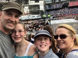 James attended Taylor Swift Redemption Stadium Tour on Jul 27th 2018 via VetTix