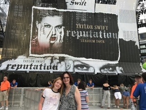 Renee attended Taylor Swift Redemption Stadium Tour on Jul 27th 2018 via VetTix