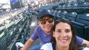 Lisle attended Colorado Rockies vs. Arizona Diamondbacks - MLB on Jul 11th 2018 via VetTix