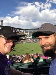 Dennis attended Colorado Rockies vs. Arizona Diamondbacks - MLB on Jul 11th 2018 via VetTix
