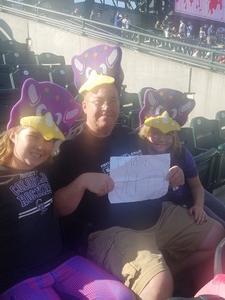Archie attended Colorado Rockies vs. Arizona Diamondbacks - MLB on Jul 11th 2018 via VetTix