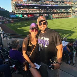 Justin attended Colorado Rockies vs. Arizona Diamondbacks - MLB on Jul 11th 2018 via VetTix