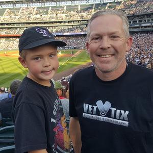 Brian attended Colorado Rockies vs. Arizona Diamondbacks - MLB on Jul 11th 2018 via VetTix